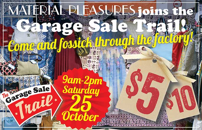 Garage Sale Trail Oct 25